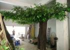 仿真大树假树仿真榕树仿真大型植物装饰酒店大厅布景实木树干订做